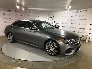 RARE FSBO Matte Grey 2017 Mercedes Benz E-Class Sedan