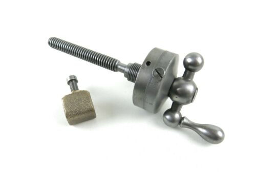 """South Bend 13"""" Lathe Compound Rest Top Large Dial Screw Assembly"""