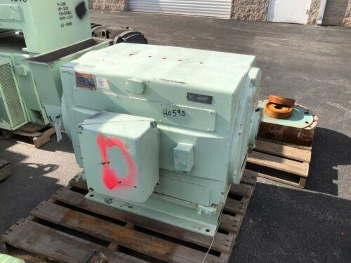 350 HP General Electric Motor, 1200 RPM, 8188 Frame, DP, 2300 V, 1.15 S.F.