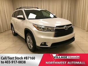 2014 Toyota Highlander Limited - NAV/Sunroof