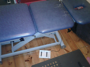 Chiropractic Table for massage /electronic lift. Alberton Port Adelaide Area Preview