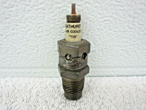 """Antique Vintage Bathurst Air Cooled """"775"""" Spark Plug 1/2"""" thread Collectible  dp"""