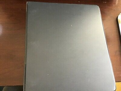 3 Ring Binder For School And Office Black1 12 Inch