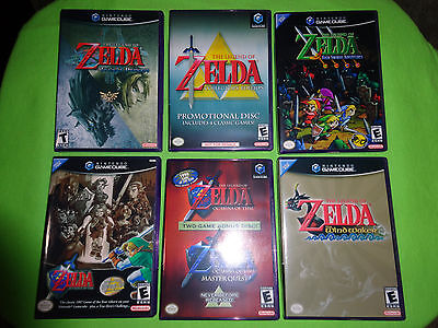 Used, EMPTY CASES!  Legend of Zelda: Four Swords Twilight Wind Waker Nintendo GameCube for sale  Shipping to Canada