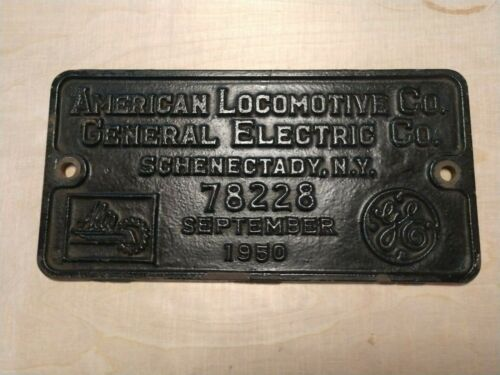 American Locomotive Company / General Electric Co. Builder