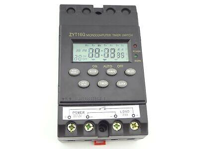 Misol 12v Timer Switch Timer Controller Lcd Displayprogramprogrammable Time...