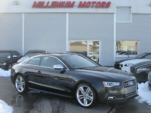 2014 Audi S5 3.0 TECKNIK 6-SPEED/ NAVI/ B.CAM/ LEATHER/ SUNROOF