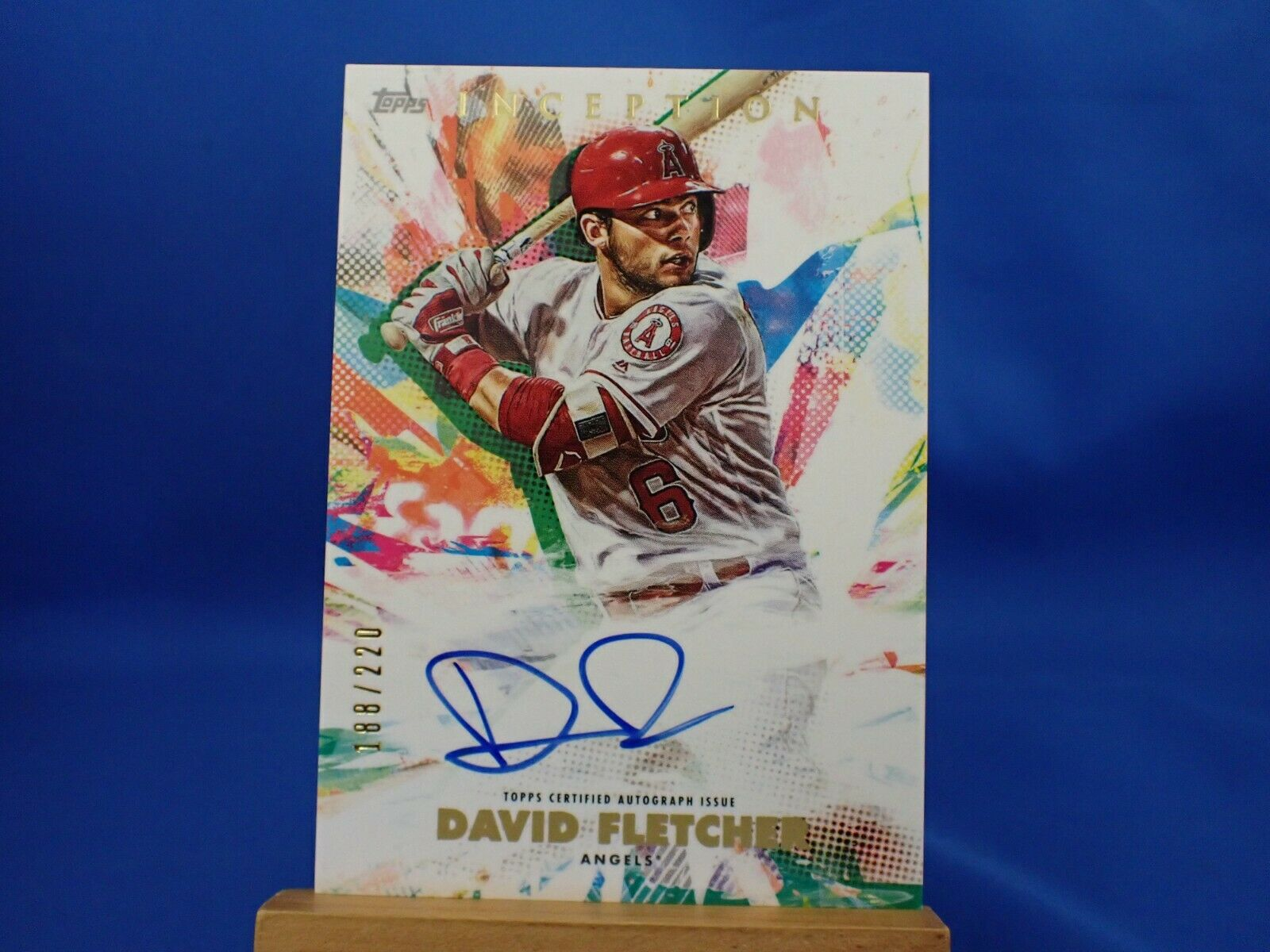 Topps Inception 2020 Autograph Auto /220 David Fletcher - $15.19