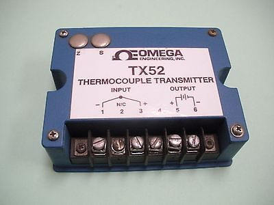 Omega Thermocouple Transmitter Tx52-k3