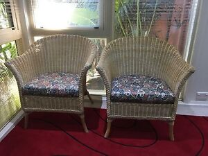Cane chairs Palmwoods Maroochydore Area Preview