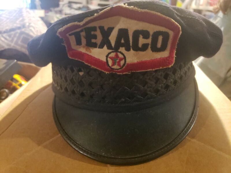 vintage texaco gas attendent hat