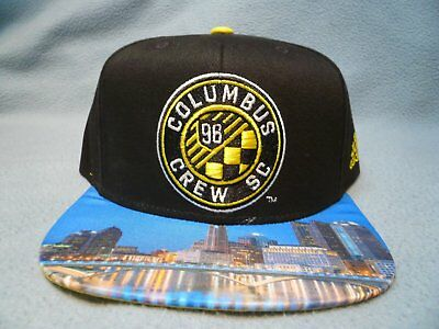 huge selection of 23466 71e95 Adidas MLS Skyline Columbus Crew BRAND NEW Snapback hat cap Football Club FC