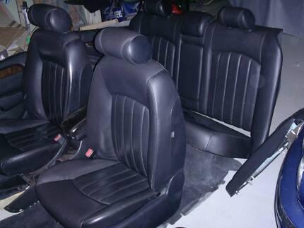 Jaguar X-Type low km interior - as new - seats full electrics Coromandel Valley Morphett Vale Area Preview