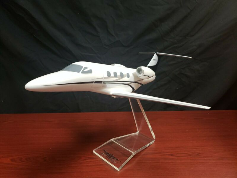 Phenom 100 Embraer EMB-100 Airplane Handcrafted Wood Model