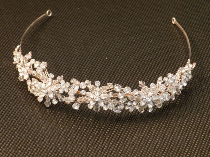 Swarovski Crystal Bridal Tiara Headpiece