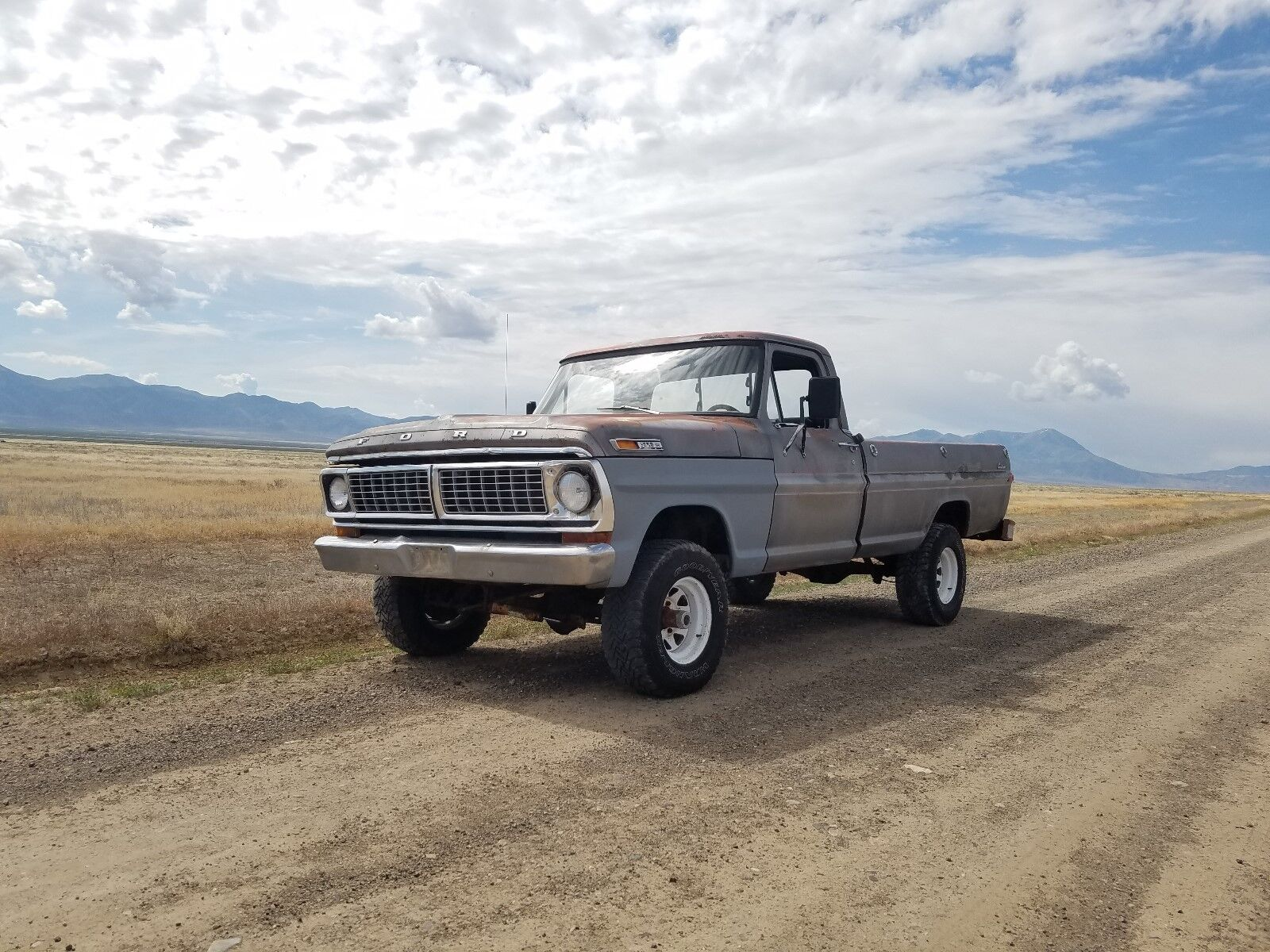 1970 Ford F-100 custom 1970 Ford F100 4WD 460 4x4 4 speed manual long bed lifted