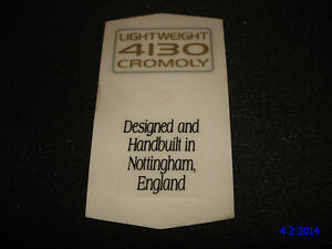 AUTHENTIC-NOS-RALEIGH-4130-CROMOLY-HANDBUILT-BIKE-FRAME-STICKERS-10-DECALS