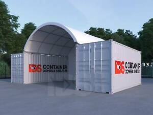 6Mx6M Container Dome Shelter **BEST QUALITY AT THE BEST PRICE