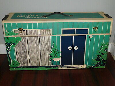 Barbie: VINTAGE Complete 1962 1st Issue DREAM HOUSE Playset!