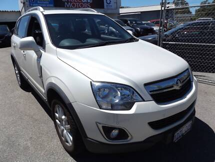 2012 HOLDEN CAPTIVA (AUTO)  $10990 *VERY LOW KMS*