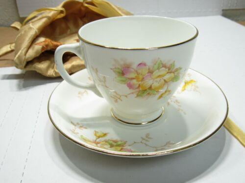 Sampson Smith Old Royal Bone China Vintage Tea Cup & Saucer