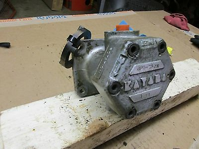 Kubota L260p Oil Pressure Pump Part 32270-36103