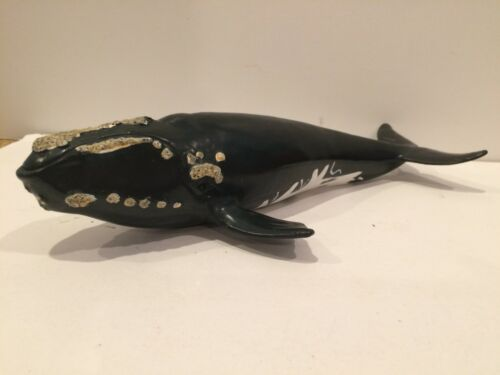 "2005 Schleich Right Whale 8"" Figure Marine Toy"
