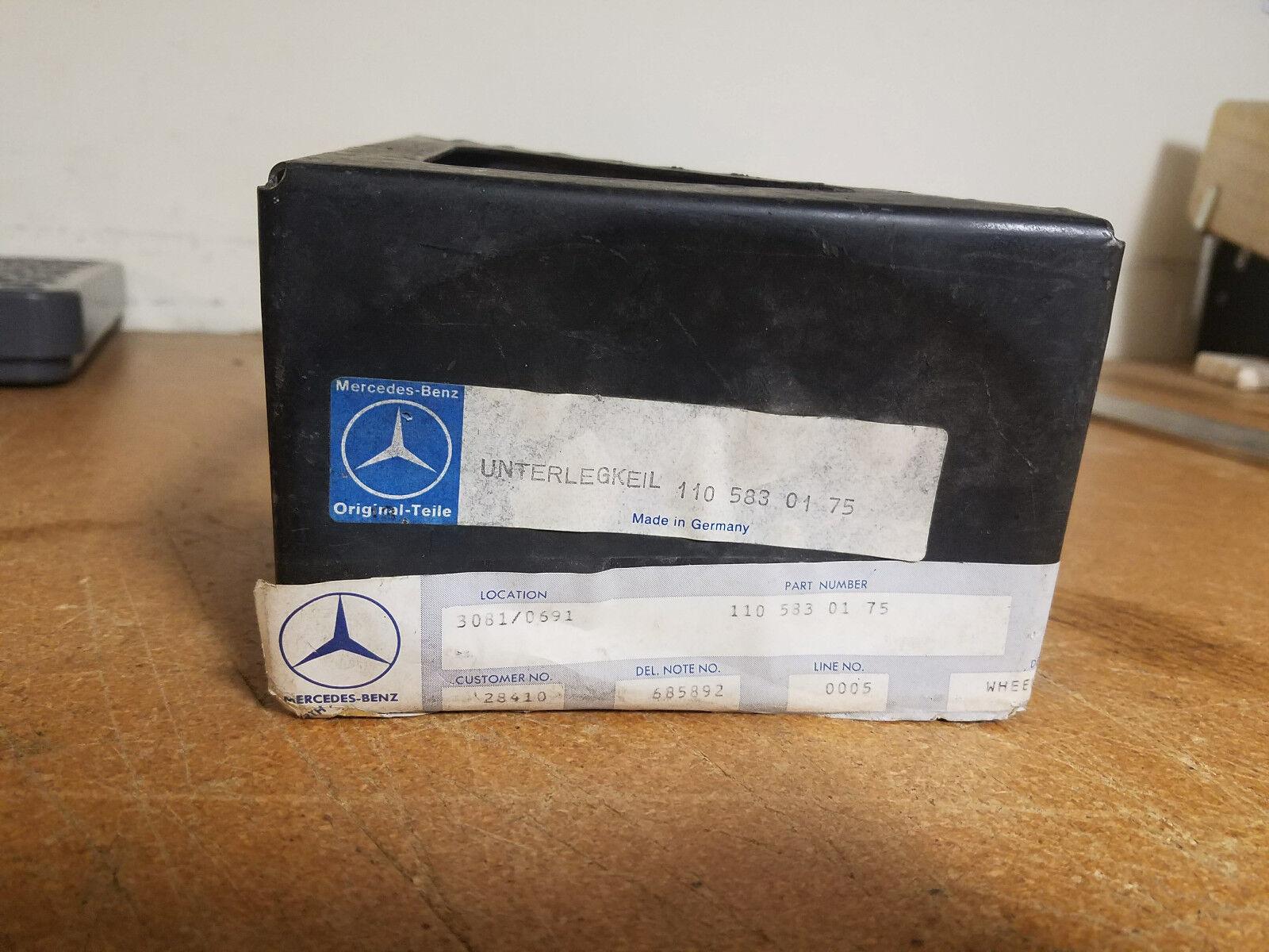 NOS Mercedes Wheel Tire Chock 1105830175 230SL 250SL 280SL Pagoda w113 Chassis