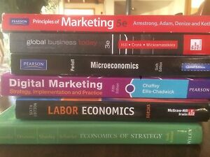 Commerce Textbooks - HUGE selection - ONLY $25 each St Kilda Port Phillip Preview