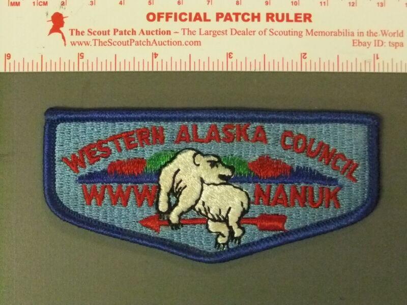 Boy Scout OA 355 Nanuk first solid flap 6558JJ