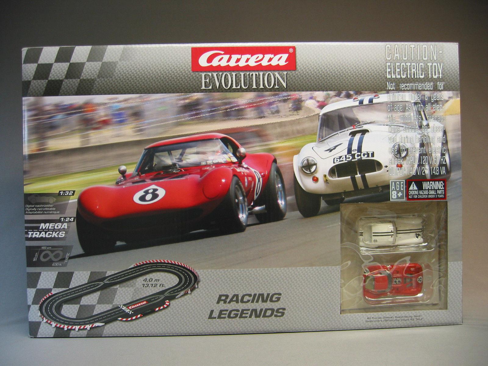 Weckt den Rennfahrer in Ihnen: die schnellsten Carrera Evolution Rennwagen