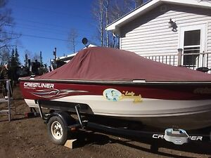 2010 Crestliner fully loaded boat and motor
