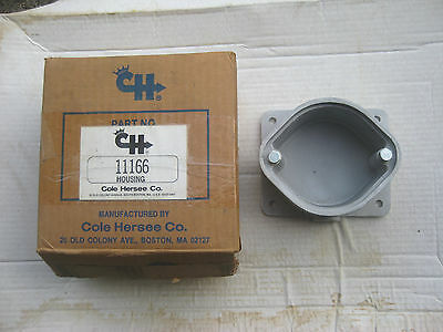 Cole Hersee 11166 Surface Mounting Socket Adapter Housing, tractor-trailer, NOS!