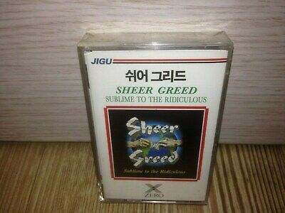Sheer Greed Sublime To The Ridiculous 1993 Cassette Tape Sealed Girl Def Leppard