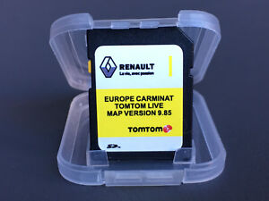 2018-2019 RENAULT CARMINAT TOMTOM LIVE Europe 10.05 UK MAP Sat Nav SD Card