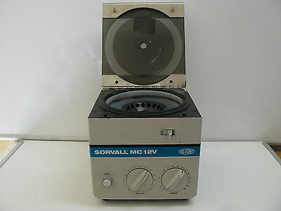 Sorvall Mc-12v Benchtop Microcentrifuge With F-12m.18 Rotor 12000rpm