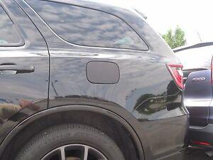2016 2017 Dodge Durango Carbon Fiber Gas Cap Fuel Door Overlay Cover Decal Skin