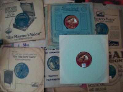"Job Lot 54 Peter Dawson 78 RPM 12"" 10"" HMV Zonophone Acoustic Electrical Rare VG"