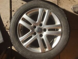 VW wheels and tires 205/50R16
