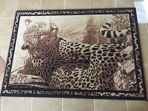 3x5 leopard rug
