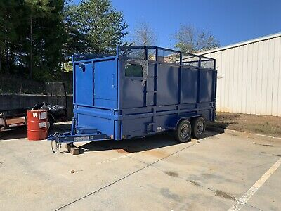 2015 Loadtrail Custom Insulation Removal Trailer