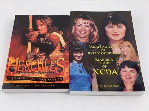 Warrior Stars of Xena & Hercules The Legendary Journeys Companion Books Set