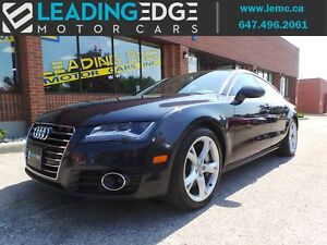 2012 Audi A7 Premium Plus Navigation, Bose, Four-Zone Climate