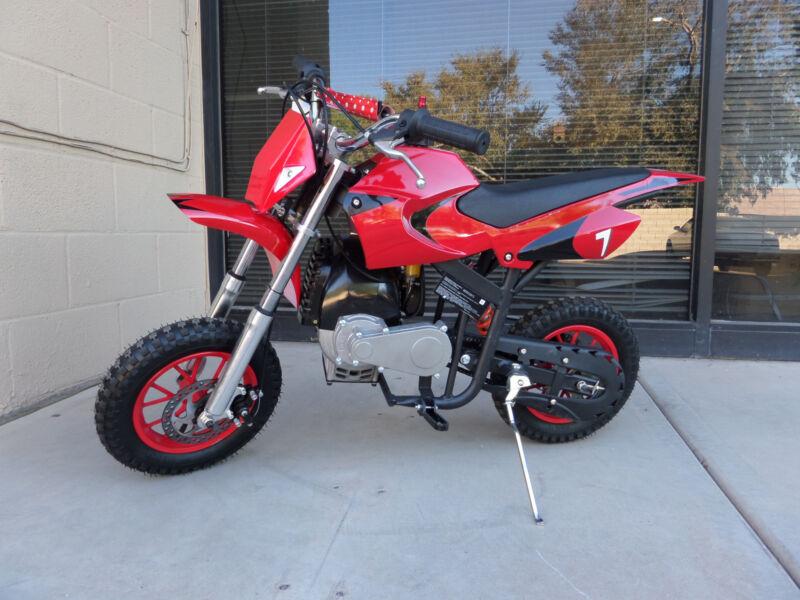 Brand New High Performance 4 Stroke 40cc Red Mini Dirt Bike