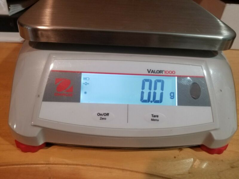 Ohaus Valor 1000 V12P3 bench scale