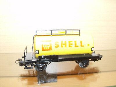1559) Selten - Märklin - HO - Kesselwagen SHELL - schöne Erh.