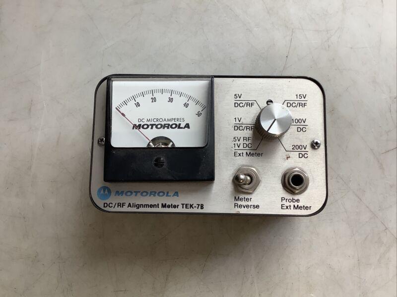 MOTOROLA TEK-7B DC/RF ALIGNMENT METER