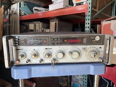 Hewlett Packard Hp 8640b Signal Generator Opt. 001 003 - Parts Or Repair 8704