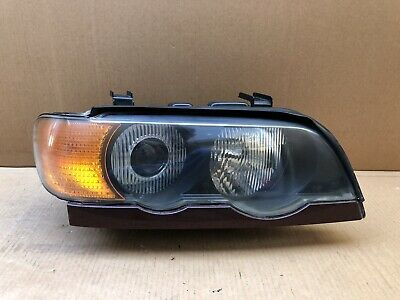2000 2001 2002 2003 BMW X5 E53 XENON HID PASSENGER RIGHT HEADLIGHT TESTED OEM