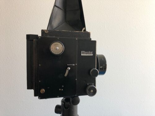 Mentor 3x4 Polaroid Camera - Modified - Very Rare